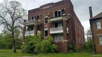 Detroit Multi Family Home For Sale: 2903 Montgomery Street