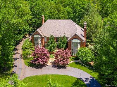 Bloomfield Twp Single Family Home For Sale: 1750 Heron Ridge Drive