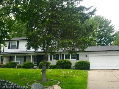 Farmington, Farmington Hills Single Family Home For Sale: 25383 Leestock