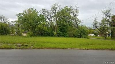 Detroit Residential Lots & Land For Sale: 2747 Montgomery