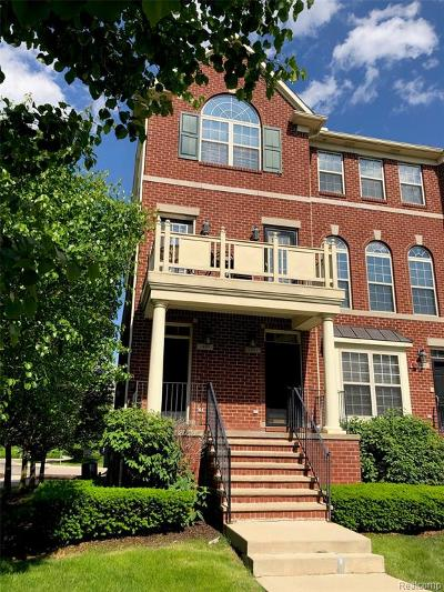 Troy Condo/Townhouse For Sale: 1483 Raliegh Pl
