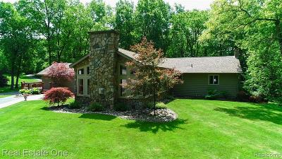 Oakland County Single Family Home For Sale: 405 N Baldwin Road