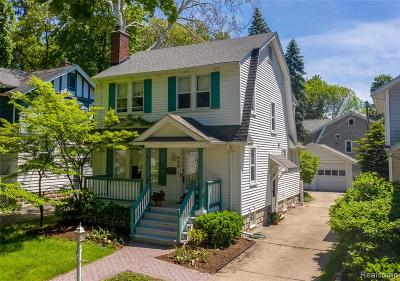 Royal Oak Single Family Home For Sale: 906 E 6th Street