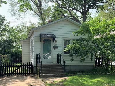 Ferndale Single Family Home For Sale: 259 Kensington Avenue