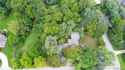 Bloomfield Twp Residential Lots & Land For Sale: 1836 Dell Rose Drive