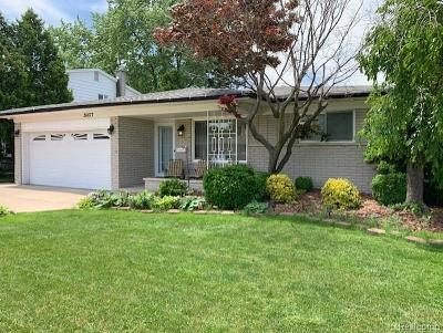 Sterling Heights Single Family Home For Sale: 34677 Fargo Drive