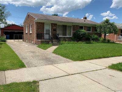 Warren Single Family Home For Sale: 22335 Audrey Avenue