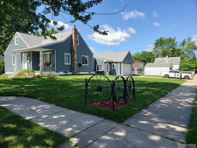 Madison Heights MI Single Family Home For Sale: $209,900