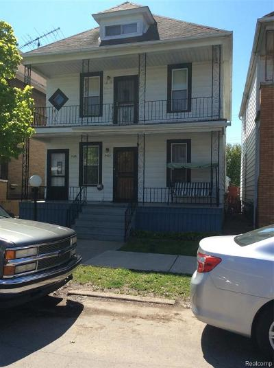 Hamtramck Multi Family Home For Sale: 3422 Doremus Street Street