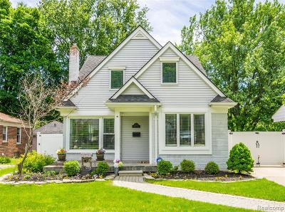Birmingham, Bloomfield Hills Single Family Home For Sale: 2650 Manchester Road