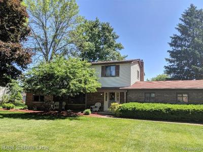 Waterford Twp Single Family Home For Sale: 2716 Gatewood Drive