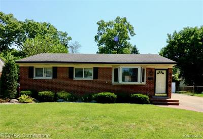 Garden City, Westland, Plymouth Twp, Canton Twp Single Family Home For Sale: 6746 Chirrewa Street