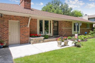 Commerce Single Family Home For Sale: 5025 Elkin Street