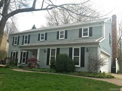 Farmington Hills Single Family Home For Sale: 28564 Perryville Way