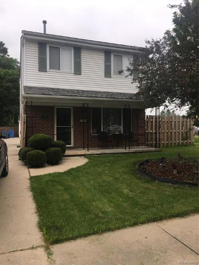 Dearborn Heights Single Family Home For Sale: 24000 Currier Street