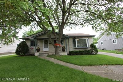 Royal Oak Single Family Home For Sale: 4003 Kent Road