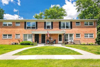 Royal Oak Condo/Townhouse For Sale: 2906 W 13 Mile Road