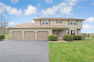 City Of The Vlg Of Clarkston, Clarkston, Independence Twp Single Family Home For Sale: 6977 Langle Drive