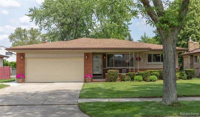 Sterling Heights Single Family Home For Sale: 3043 Reese Drive