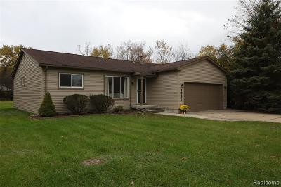 Grosse Ile Twp MI Single Family Home For Sale: $195,000