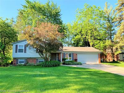 Single Family Home For Sale: 2921 Walmsley Circle