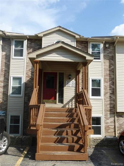 Waterford Twp Condo/Townhouse For Sale: 4921 Harbor Point Drive