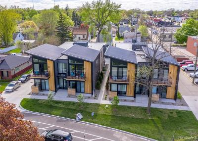 Ferndale Condo/Townhouse For Sale: 1711 Livernois Street #7