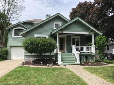 Rochester MI Single Family Home For Sale: $629,000