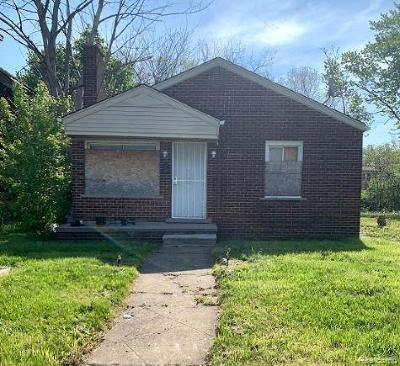 Detroit Single Family Home For Sale: 9368 Wyoming Street