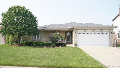 Sterling Heights Single Family Home For Sale: 3665 Gloucester Drive