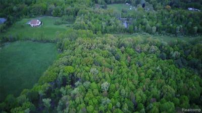 Addison Twp Residential Lots & Land For Sale: Noble Road