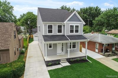 Berkley Single Family Home For Sale: 3143 Cummings Avenue