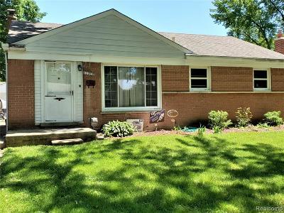 Livonia, Farmington, Farmington Hills, Northville Twp, Novi Single Family Home For Sale: 11316 Flamingo Street