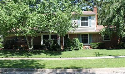 Northville Single Family Home For Sale: 463 Maplewood Street