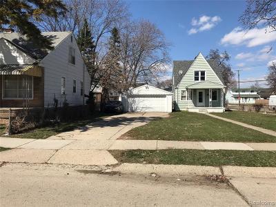 Warren Single Family Home For Sale: 8141 Cadillac Avenue