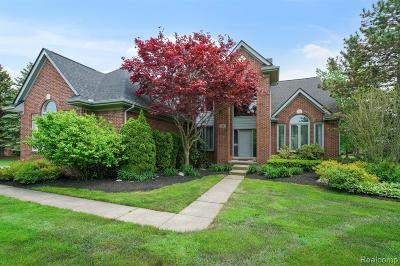 West Bloomfield Twp Single Family Home For Sale: 4661 Stoneview