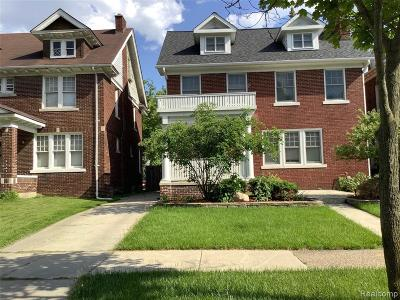 Detroit Single Family Home For Sale: 1247 Edison Street