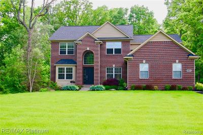 Brighton Single Family Home For Sale: 9851 Rosemary Ln