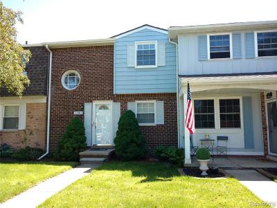 Novi Condo/Townhouse For Sale: 24604 Olde Orchard Street