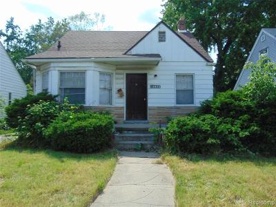 Detroit Single Family Home For Sale: 12095 Plainview Avenue