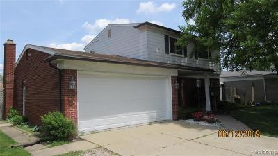 Warren Single Family Home For Sale: 3811 Shampo Drive