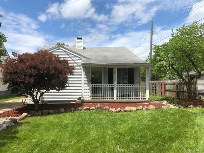 Garden City, Westland, Plymouth Twp, Canton Twp Single Family Home For Sale: 28424 Dawson Street