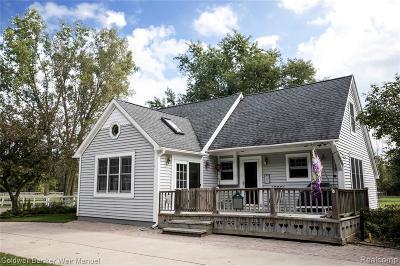 Livingston County Single Family Home For Sale: 4420 Ellis Road