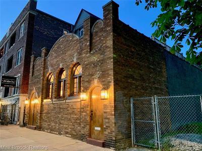 Detroit Single Family Home For Sale: 4468 3rd Unit #1 Street