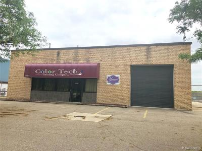 Livonia Commercial For Sale: 37001 Schoolcraft Road