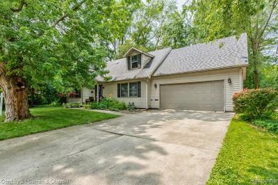 Royal Oak, Royal Oak Twp Single Family Home For Sale: 3259 Harvard Rd