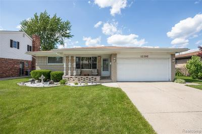 Sterling Heights Single Family Home For Sale: 12395 Canterbury Drive