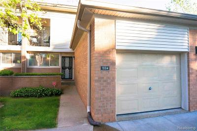 Detroit Condo/Townhouse For Sale: 1004 Stafford Place