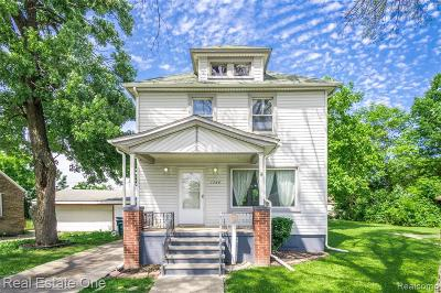 Lincoln Park Single Family Home For Sale: 1566 University Avenue
