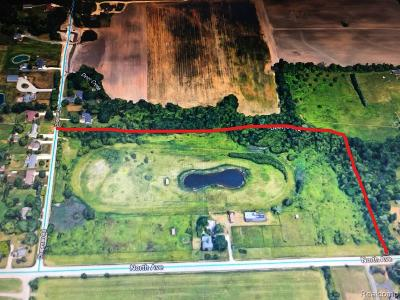 Macomb Twp Residential Lots & Land For Sale: 53710 North Avenue
